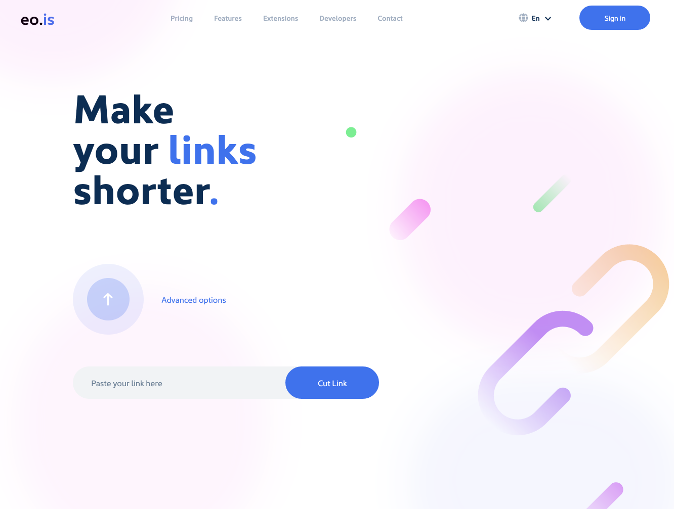 eo.is - the url shortener for affiliate marketers